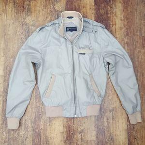 Vintage Members Only Gray Tan Jacket